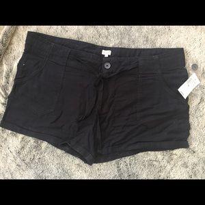 Kismet Black Shorts